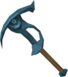 Rune pickaxe detail