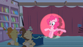 Pinkie Pie kicks stuff away S2E13.png