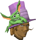 Flying Goblin Hat chathead