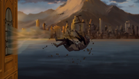 Amon defeated by Korra