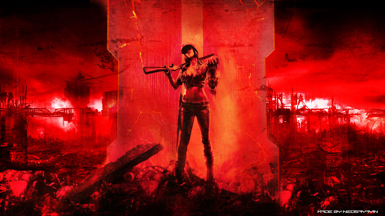 Call Of Duty Black Ops 2 Zombies Wallpaper By