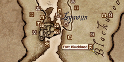 TESV Map Fort Blueblood