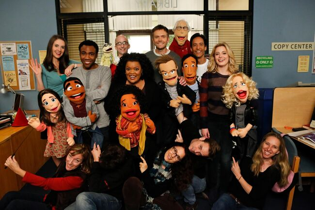 Actors and puppets