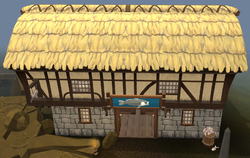Lumbridge Fishing Supplies exterior