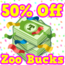 Birthday bucks sale hud