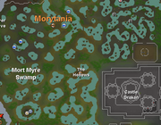 Morth myre map