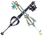 Deux Keyblades KHII