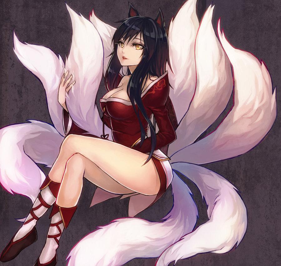 User Ahri-chan profile - Fairy Tail Wiki  the site for Hiro Mashima s    Lol Ahri Hot