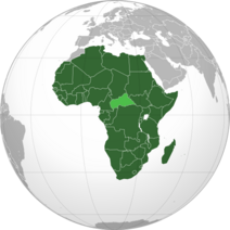African Union (orthographic projection)