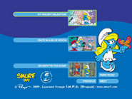 SmurfsSmurfetteCollectionDisc1menu3