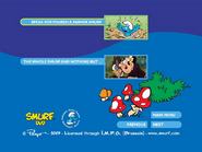 SmurfsSmurfetteCollectionDisc1menu4