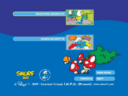 SmurfsSmurfetteCollectionDisc2menu4