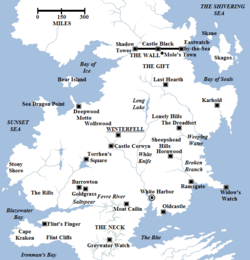 The North map