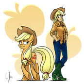Applejack by GlancoJusticar