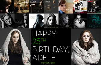 ADELE HAPPY BIRTHDAY 25