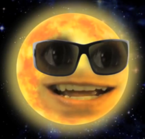 Annoying Orange the sun