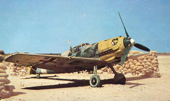 Bf 109E-7 Trop 6