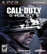 Call of Duty Ghosts PS3 cover art