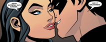 Nightwing and Zatanna