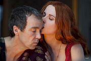 Batiatus and Lucretia