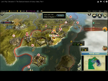 Samurai invasion of Korea (Civ5)