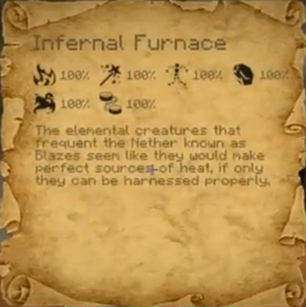 Inferno Furnace Scroll
