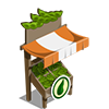 Organic Soybean Stall-icon
