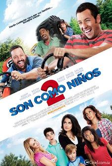Son Como Ni os 2 Poster Latino Cine 1