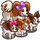 Papillon and Puppies-icon