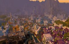 Stormwind City Vista aerea