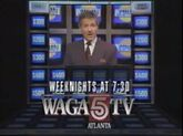 WAGA-TV Jeopardy promo 1990