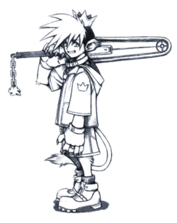 Sora (Early Concept) 1 (Art)