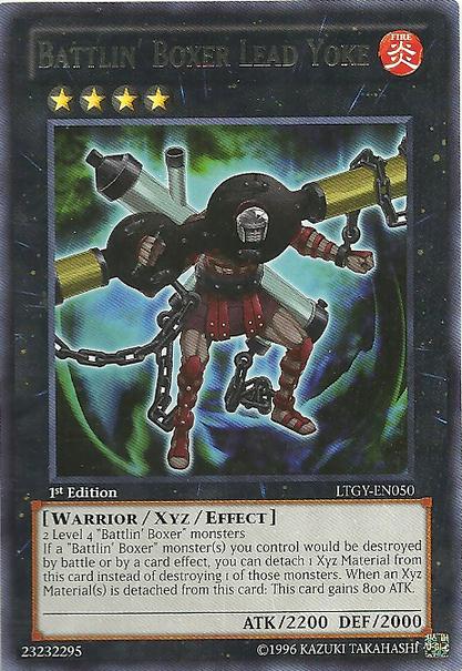 Battlin' Boxer Lead Yoke - Yu-Gi-Oh! - It's time to Duel!