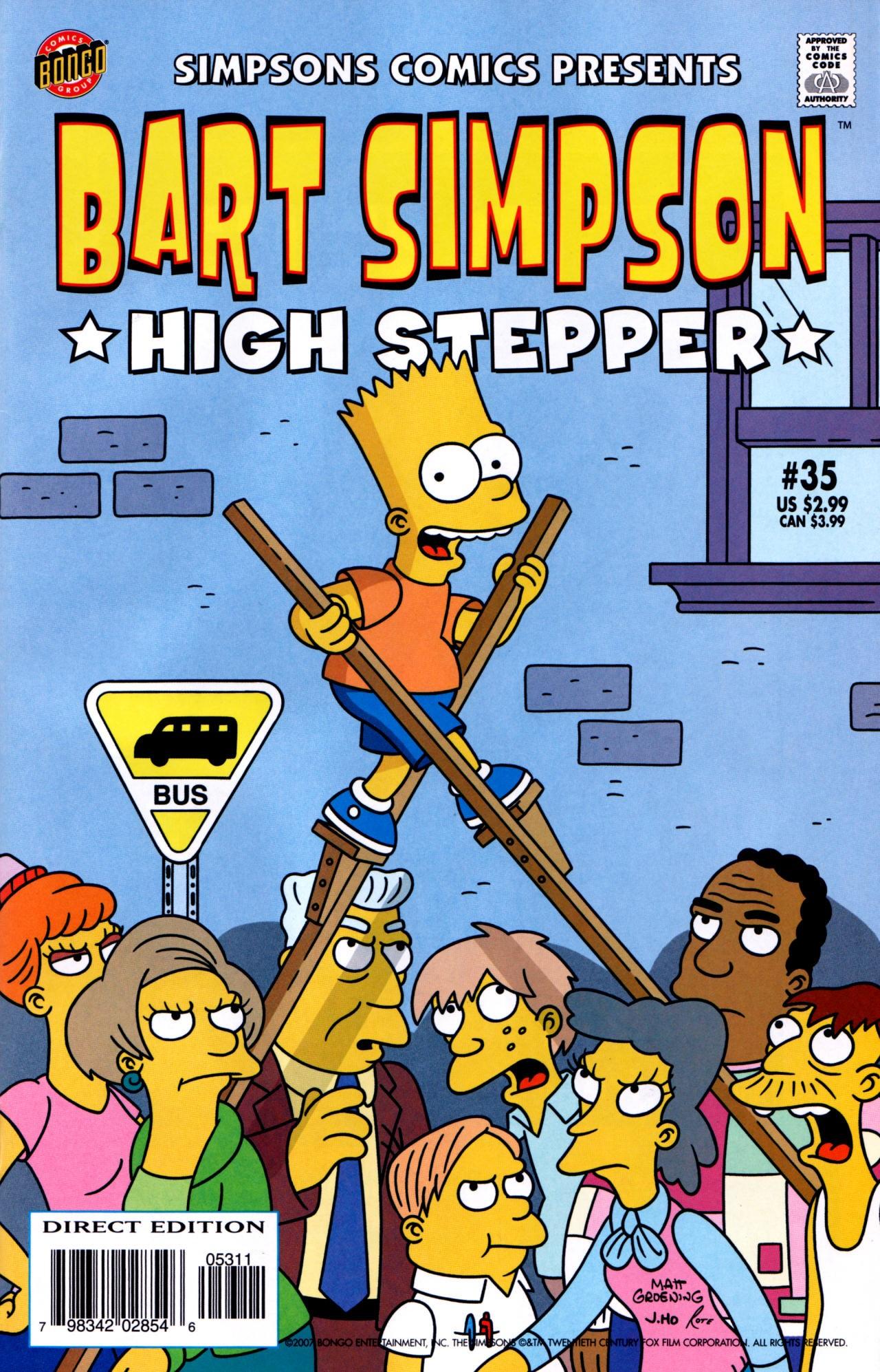 Bart Simpson Comics Quotes