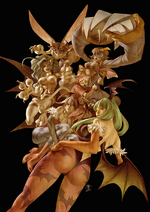 Darkstalkers Tribue cover textless