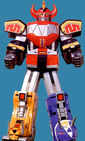 MMPR Dinozord Megazord
