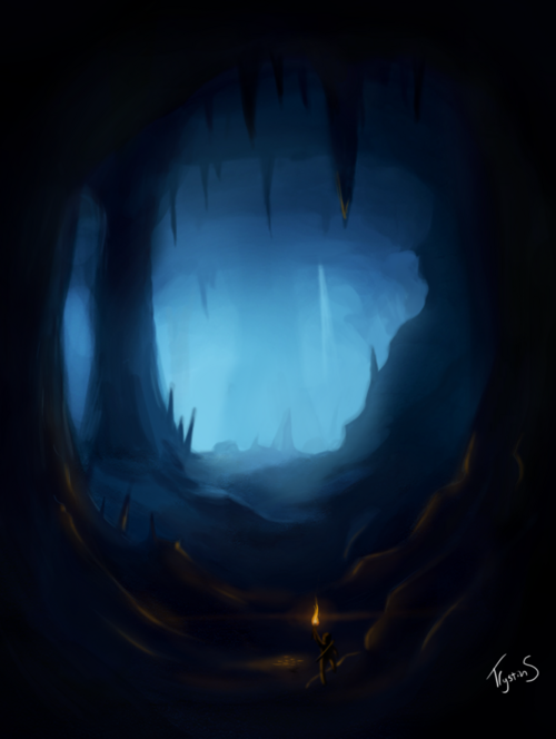 Forest Entrance To Dark Cave Camp Half Blood Role