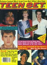 Teen set magazine wikipedia duran duran michael jackson usa