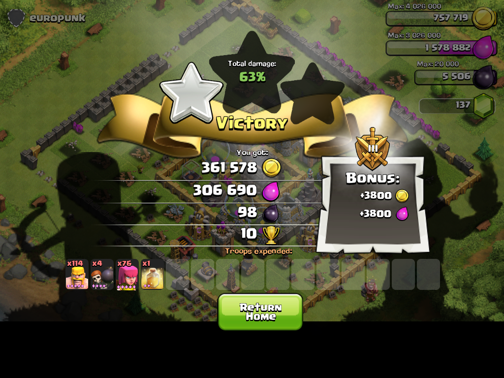 Best Farming Range - Clash of Clans Wiki