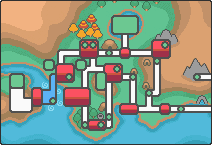 Johto Map