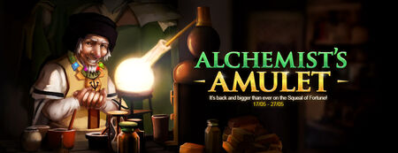 Alchemist&#39;s Amulet banner 2