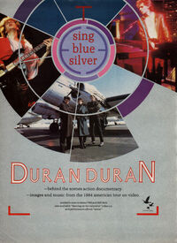 Sing Blue Silver video wikipedia duran duran advert 2