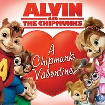 A Chipmunk Valentine Book Cover