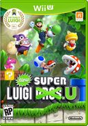 New Super Luigi U box art