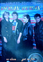 DURAN DURAN LIMITED EDITION MAGAZINE ISSUE 14 wikipedia poster