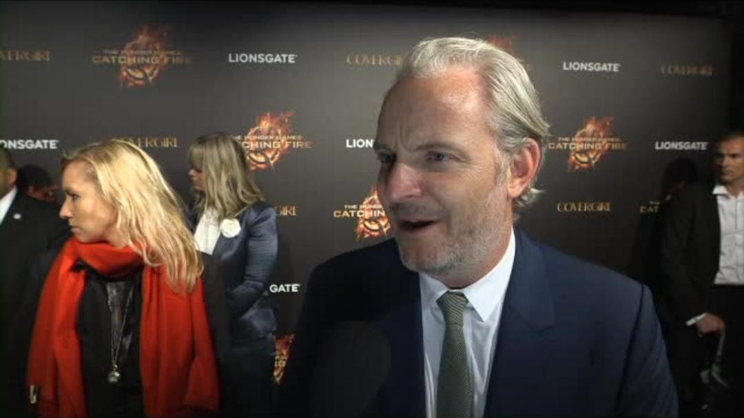 The Hunger Games Catching Fire - Francis Lawrence Red Carpet