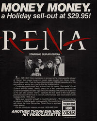 Arena advert wikipedia video duran duran album 1