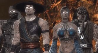 MK9 Zombies Smoke KL Kitana Kabal