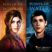 Annabeth and Percy Poster