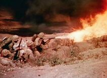 M2 Flamethrower Iwo Jima